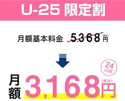 ソフトバンクエアーU-25限定割